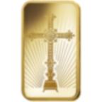 5 gram Fine Gold Bar 999.9 - PAMP Suisse Romanesque Cross