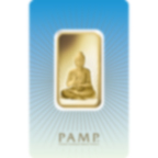 1 oz Fine Gold Bar 999.9 - PAMP Suisse Buddha