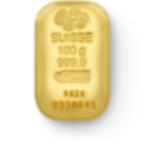 investir dans l'or, lingot d'or pur 100 grammes - PAMP Suisse - Front