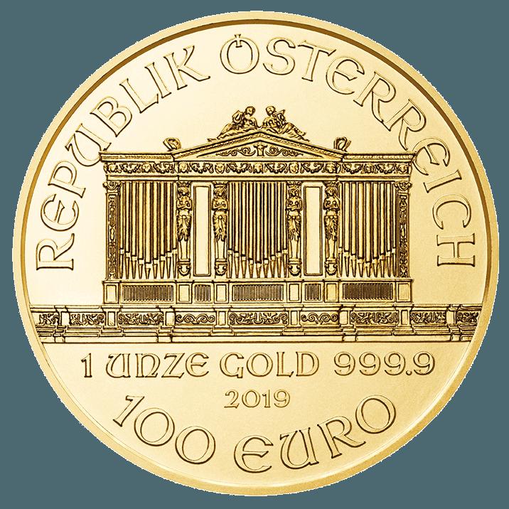 1 once pièce d'or - Philharmonique BU 2019