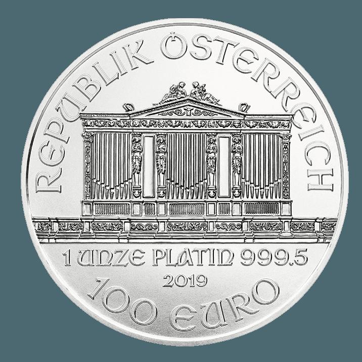 1 oz Platinum Coin - Philharmonic BU 2019