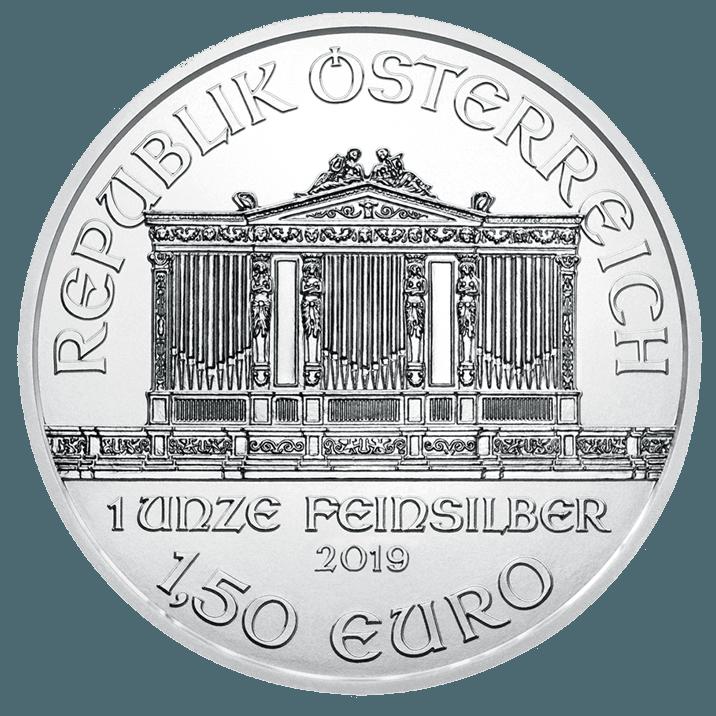 1 once pièce d'argent - Philharmonique BU 2019