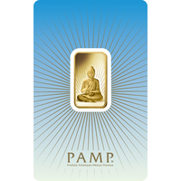 10 gram Gold Bar - PAMP Suisse Buddha