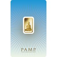 5 gram Gold Bar - PAMP Suisse Buddha