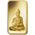 5 Gramm FeinGoldbarren 999.9 - PAMP Suisse Buddha