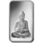 10 gram Fine Silver Bar 999.0 - PAMP Suisse Buddha