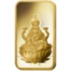 1 once lingotin d'or pur 999.9 - PAMP Suisse Lakshmi