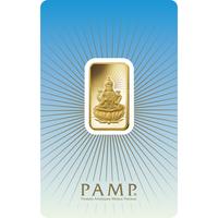 10 grammi lingottino d'oro - PAMP Suisse Lakshmi