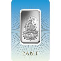 10 gram Silver Bar - PAMP Suisse Lakshmi