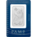 1 oz Fine Silver Bar 999.0 - PAMP Suisse Lady Fortuna