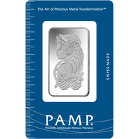 20 gram Silver Bar - PAMP Suisse Lady Fortuna
