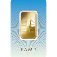 1 oz Gold Bar - PAMP Suisse Ka'Bah Mecca