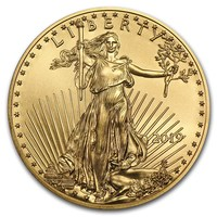 2019 1 oz Gold American Eagle BU