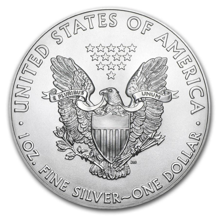 1 Unze Silbermünze - American Eagle BU 2019