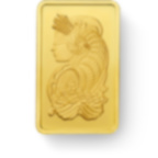 5 grammes lingotin d'or pur 999.9 - PAMP Suisse Lady Fortuna Veriscan