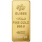 1 kg lingottino d'oro puro 999.9 - PAMP Suisse Lady Fortuna
