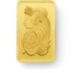 Kaufen Sie 2,5 Gramm FeinGoldbarren Lady Fortuna - PAMP Suisse - Front