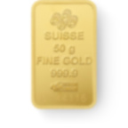 Kaufen Sie 50 Gramm FeinGoldbarren Lady Fortuna - PAMP Suisse - Back