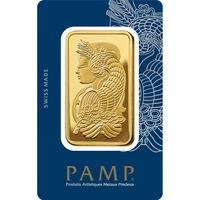 5 tolas Gold Bar - PAMP Suisse Lady Fortuna Veriscan