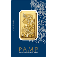 3 tolas Gold Bar - PAMP Suisse Lady Fortuna Veriscan