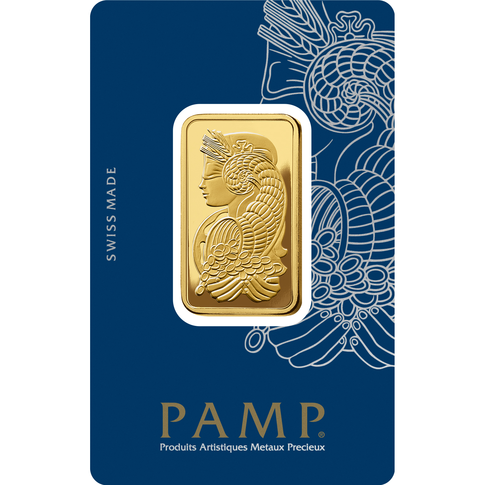 2 tolas Gold Bar - PAMP Suisse Lady Fortuna Veriscan