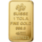 Investieren Sie in 1 Tolas FeinGoldbarren Lady Fortuna - PAMP Schweiz - Back