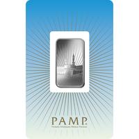 Lingotin d'argent de 10 grammes - PAMP Suisse Ka'Bah Mecca