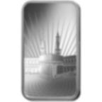 10 grammes lingotin d'argent pur 999.0 - PAMP Suisse Ka'Bah Mecca