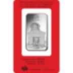 Lingotin d'argent de 1 once pur 999.0 - PAMP Suisse Lunar Chien