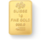 investir dans l'or, 25x1 gramme Lingotin, Lingot d'or pur Lady Fortuna - PAMP Suisse - Back