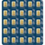 investir dans l'or, 25x1 gramme Lingotin, Lingot d'or pur Lady Fortuna - PAMP Suisse - Veriscan