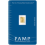 0.5 gram Fine Gold Bar 999.9 - PAMP Suisse Lady Fortuna