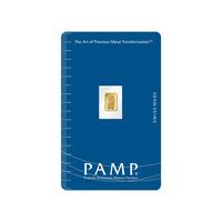 Lingotin d'or de 0.3 gramme - PAMP Suisse Lady Fortuna