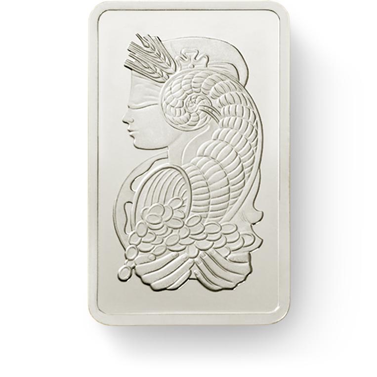 Invest in 1 gram Fine Palladium Lady Fortuna - PAMP Suisse - Front