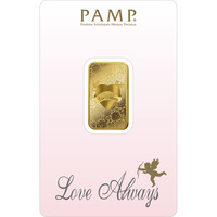 10 gram Gold Bar - Love Always