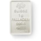 Invest in 1 gram Fine Palladium Lady Fortuna - PAMP Suisse - Back