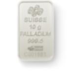 Kaufen Sie - 10 Gramm FeinPalladiumbarren Lady Fortuna - Back