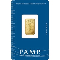 5 gram Gold Bar - PAMP Suisse Liberty