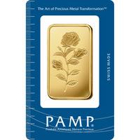 50 gram Gold Bar - PAMP Suisse Rosa