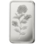 100 grammi lingottino d'argento puro 999.0 - PAMP Suisse Rosa