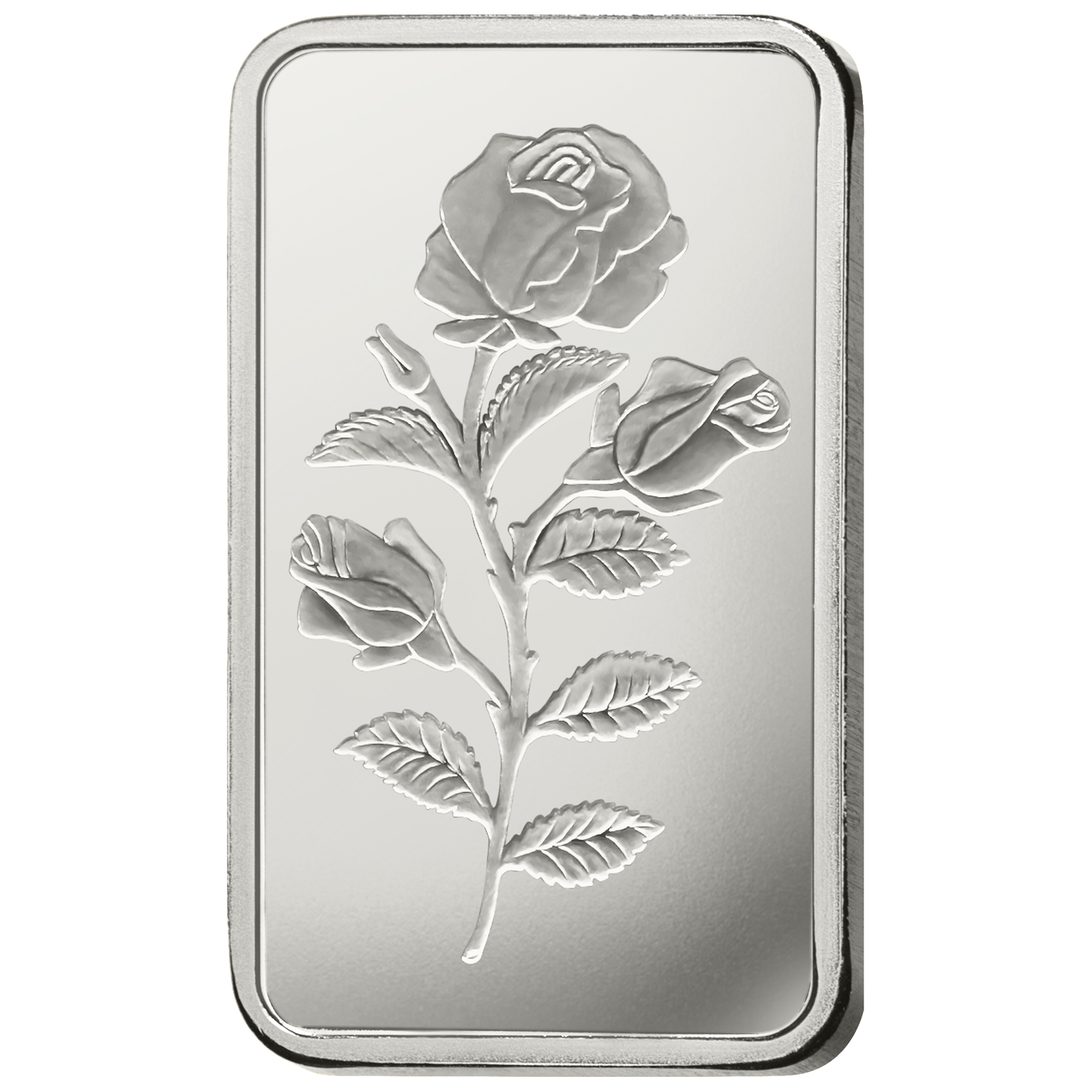 10 Gram Silver Bar Pamp Suisse Rosa Gold Avenue