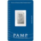 2,5 grammes lingotin d'argent - PAMP Suisse Lady Fortuna