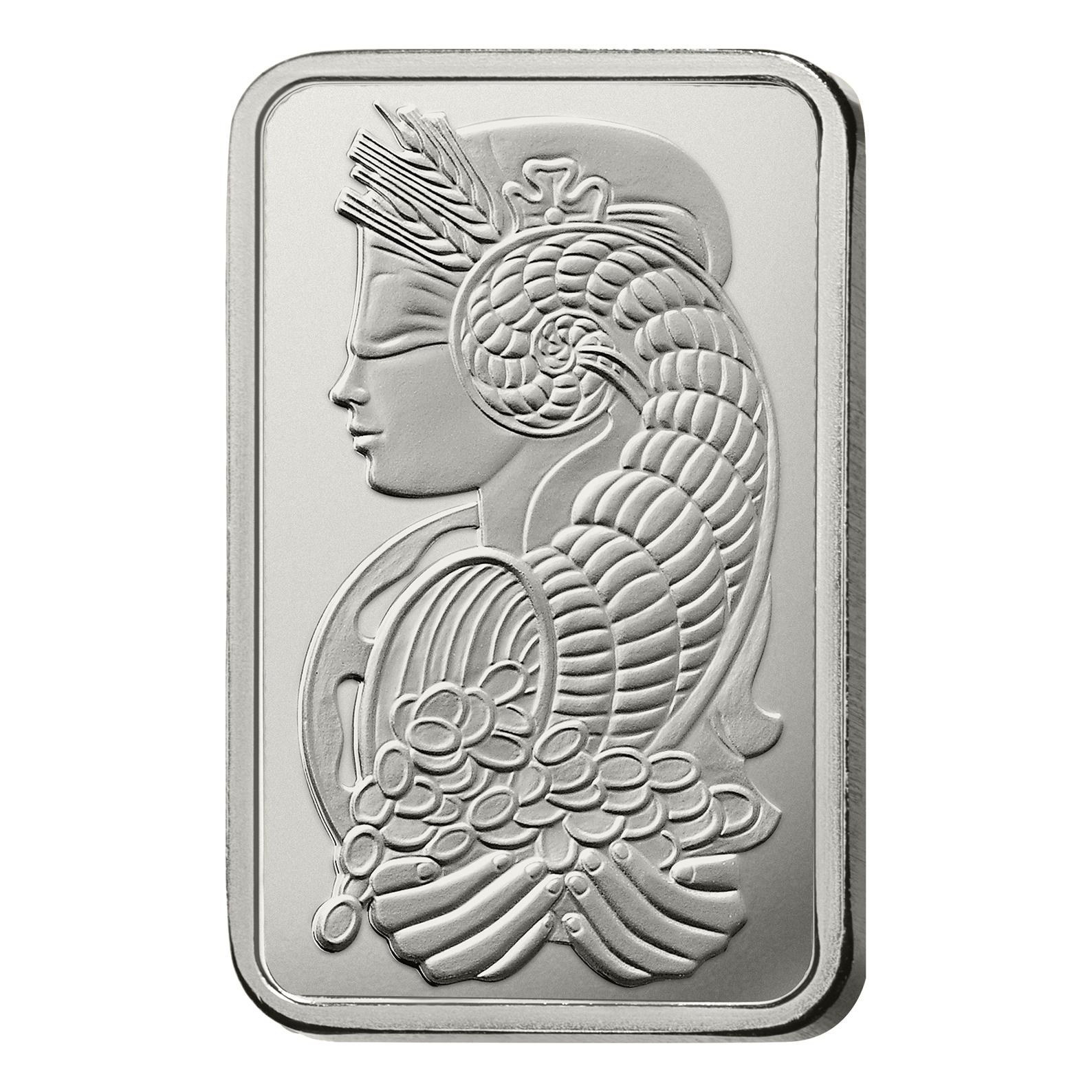 10 oz Fine Silver Bar 999.0 - PAMP Suisse Lady Fortuna