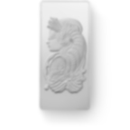 Investire in 500 grammi lingottino d'argento puro 999.0 - PAMP Suisse Lady Fortuna - Front