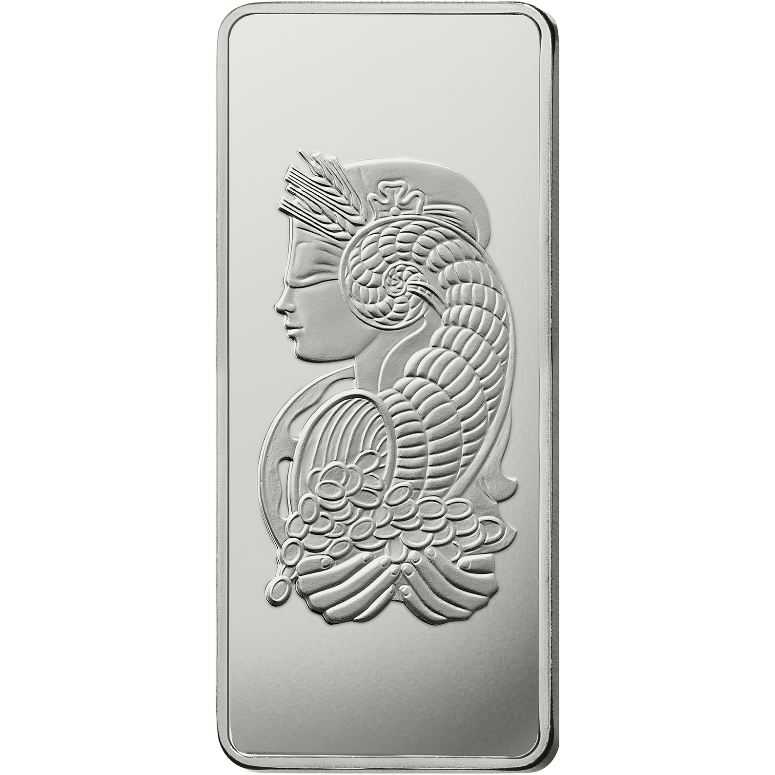 1 kilo Platinum Bar - PAMP Suisse Lady Fortuna