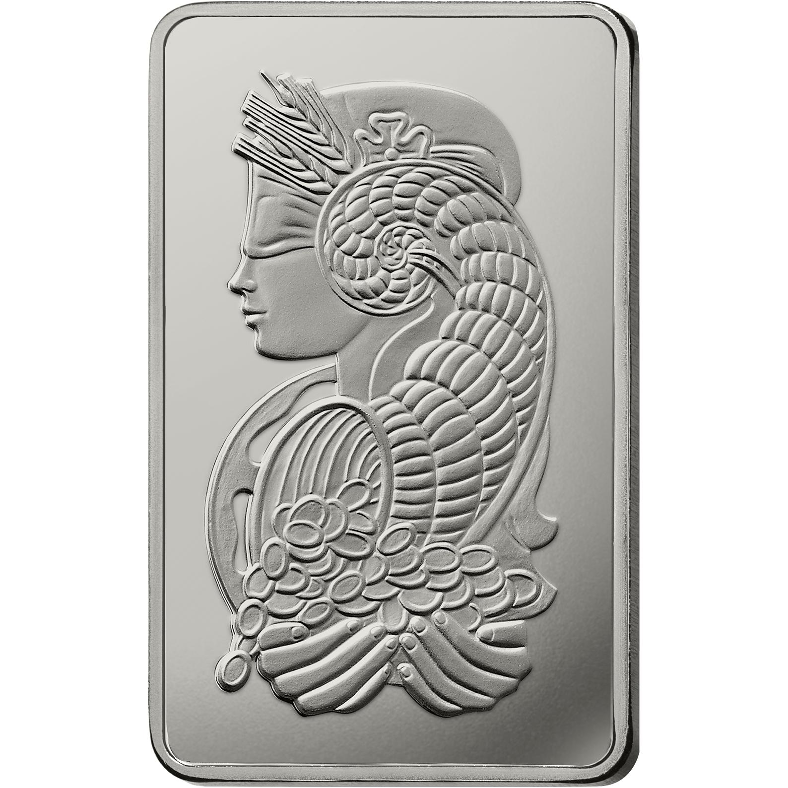 500 grammes lingot de platine - PAMP Suisse Lady Fortuna