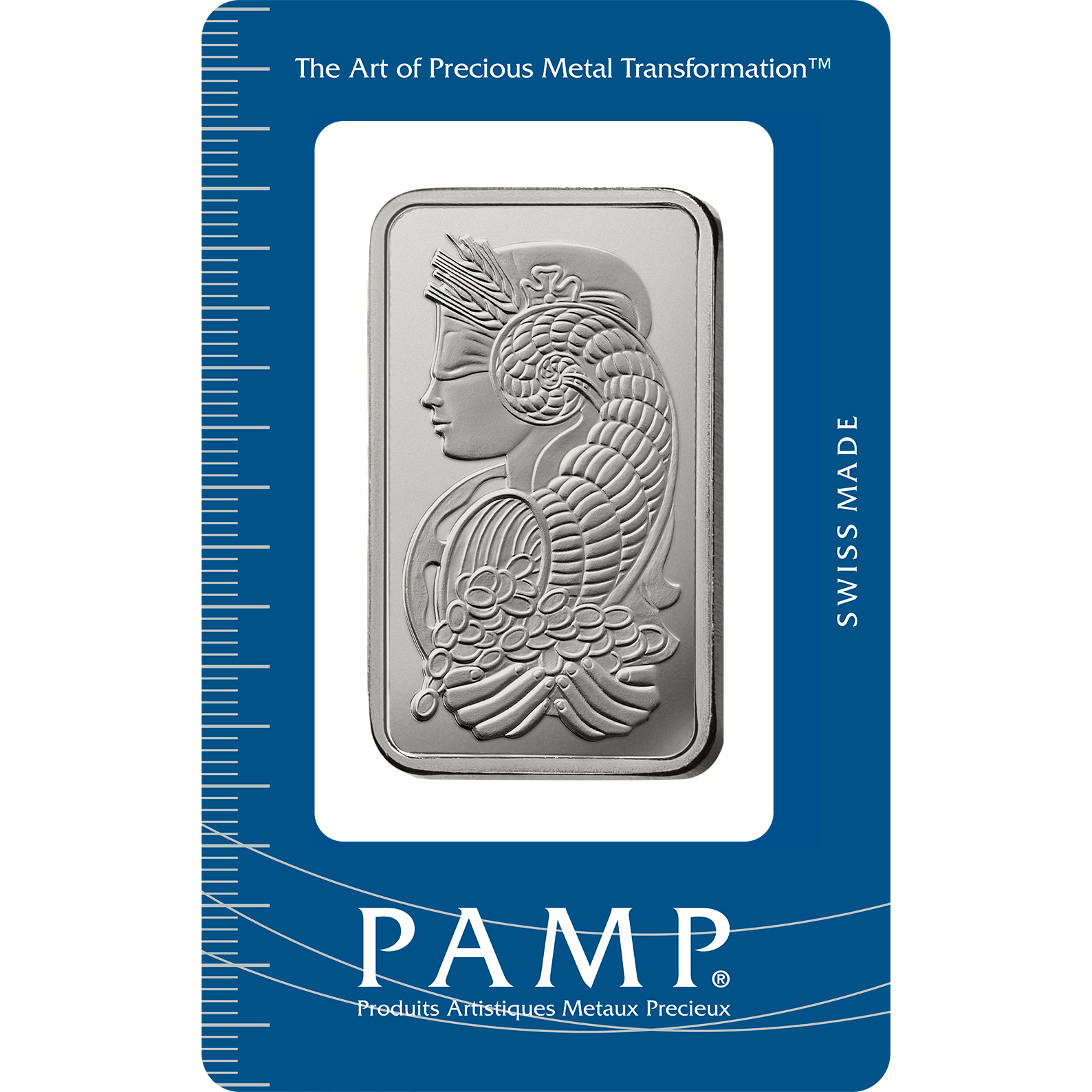 50 gram Platinum Bar - PAMP Suisse Lady Fortuna