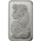 50 gram Fine Platinum Bar 999.5 - PAMP Suisse Lady Fortuna