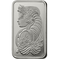 5 oz Platinum Bar - PAMP Suisse Lady Fortuna