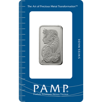 1/2 oz Platinum Bar - PAMP Suisse Lady Fortuna